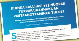 Suomen Perusta laski: näin paljon Suomelle maksaa 175 turvapaikanhakijan vastaanottaminen – samalla rahalla voisi ylläpitää vuoden kokonaista pakolaisleiriä