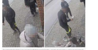 Valvontakamera tallensi veriteon Ruotsissa: Sankarivanhus ei antanut rahoja ryöstäjälle