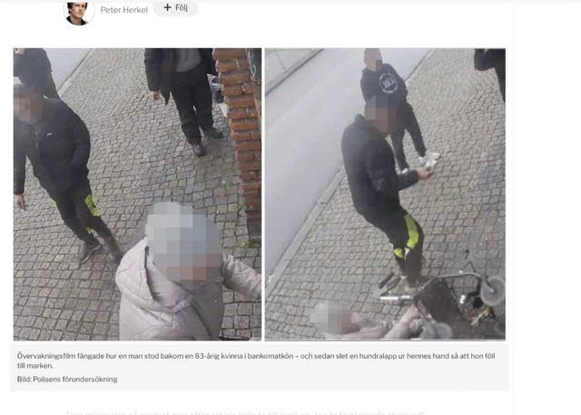 Ruotsissa: Sankarivanhus ei antanut rahoja ryöstäjälle - Suomen...