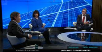 """Valtiovarainministeri Vanhasen mielestä EU-elvytys on järkevää, vaikka Suomi saa yhä vähemmän ja maksaa entistä enemmän – Tavio: """"Kuulostaa aina vaan surkeammalta"""""""