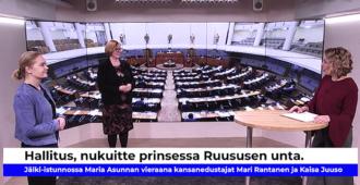 Hallitus, nukuit prinsessa Ruususen unta! – Kaisa Juuso ja Mari Rantanen harmissaan korona-toimien velttoudesta
