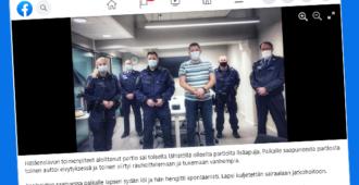 """Ansiokas toiminta pelasti sylivauvan hengen – """"poliisit kertoivat tehtävän olleen yksi uransa vaikeimmista"""""""