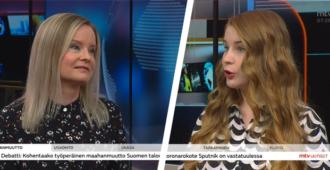 """Vihreiden Suomelan mielestä maahanmuutto ratkaisee kestävyysvajeongelman – perussuomalaisten Purra opetti: Tulijat työllistyvät lähinnä matalapalkka-aloille – """"Pelkkä rasite julkiselle taloudelle"""""""