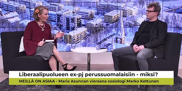 """""""Suomi on johtava holhousvaltio"""", harmittelee perussuomalaisiin siirtynyt liberaalien ex-puheenjohtaja Marko Kettunen – katso videohaastattelu"""