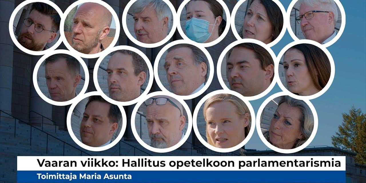 Miksi kansanedustajat puhuvat nyt yötä myöten eduskuntatalolla? Jos et tiedä, niin katso tämä VIDEO!