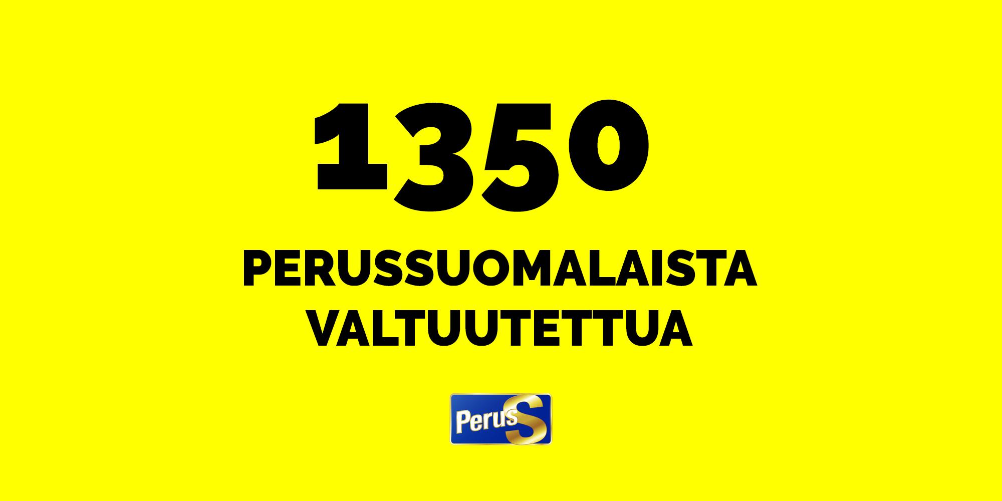 1350 perussuomalaista valtuutettua – tässä he ovat