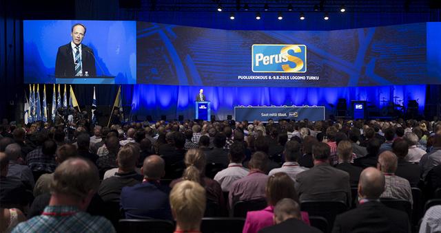 Katso täältä PS-puoluekokouksen ehdokkaiden esittelyt