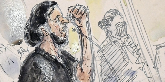 """Pariisin terroristi: """"Ei mitään henkilökohtaista"""" – Bataclanin terrori-iskua puidaan nyt oikeudessa"""